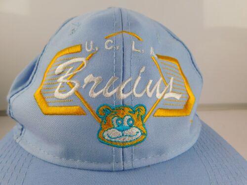 Vintage  UCLA Bruins Blue Bear Adjustable Snapback Hat Top of the World NOS