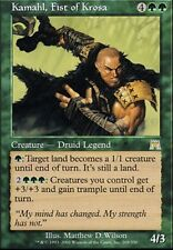 ▼▲▼ Kamahl,  Fist of Krosa (Poigne de la Krosia) ONSLAUGHT #268 ENGLISH Magic