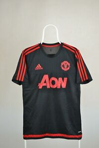Manchester United Adidas Football Training Shirt 2015-2016 Size M MEDIUM ADIZERO
