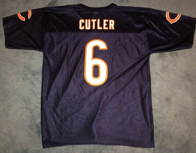 los angeles f4bec b18b2 NFL Team Apparel 6 Chicago Bears Jay Cutler Jersey Large