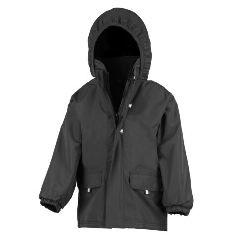 RESULT KIDS//YOUTHS RUGGED STUFF LONG LINED COAT RS150B
