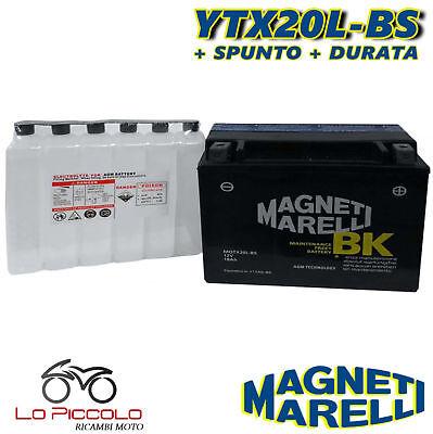 MMX20L BATTERIA MAGNETI MARELLI YTX20L-BS HARLEY VRSCF V-Rod Muscle 1250 2011