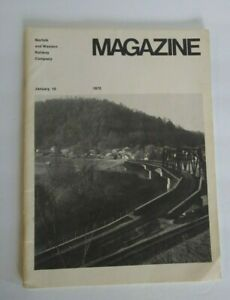 Vintage Norfolk & Western Railway Company Magazine 1972 Railroad Annual Report