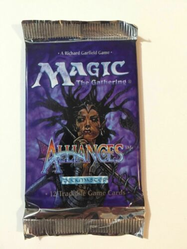 ALLIANCES Sealed Booster Pack from new open Box Magic english32 MTG