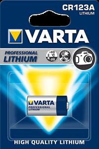2x VARTA CR123A Foto Photo Lithium Foto Batterie CR 123A 3V 6205 MHD 2027