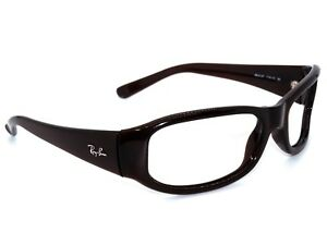 ce67a4226f0 Ray Ban Sunglasses FRAME ONLY RB 4137 714 13 Dark Brown Wrap Italy ...