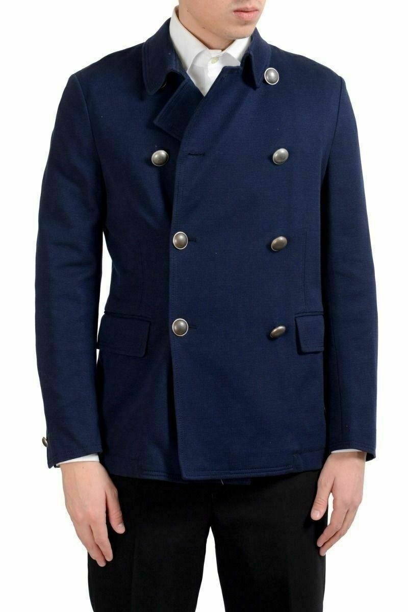 Malo Herren Blau Zweireihig Blazer Sport Mantel Us 40 It  | Berühmter Laden  | Genial  | Won hoch geschätzt und weithin vertraut im in- und Ausland vertraut