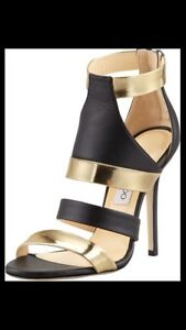 Black-And-Gold-Jimmy-Choo-Heals-Size-38