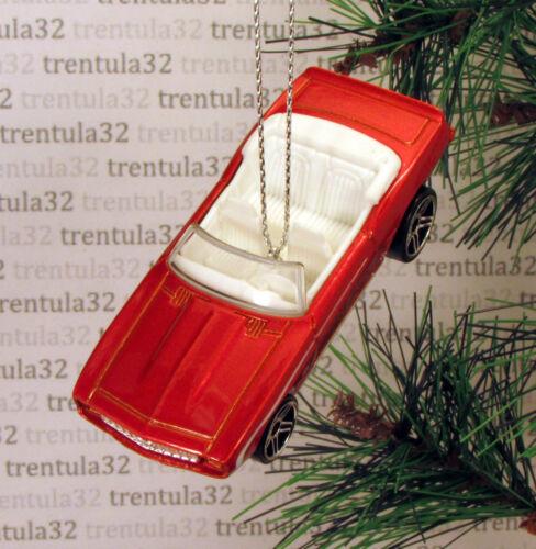 /'69 CHEVY CAMARO SS CONVERTIBLE 1969 CHEVROLET DK ORANGE CHRISTMAS ORNAMENT XMAS