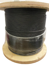 Black Oxide Stainless Steel T316 Cable Railing 18 1x19 New Stock