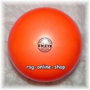 RSG-Ball-JUNIOR-BALL-Gymnastikball-ORANGE-metallic-150-170mm-300g-NEU