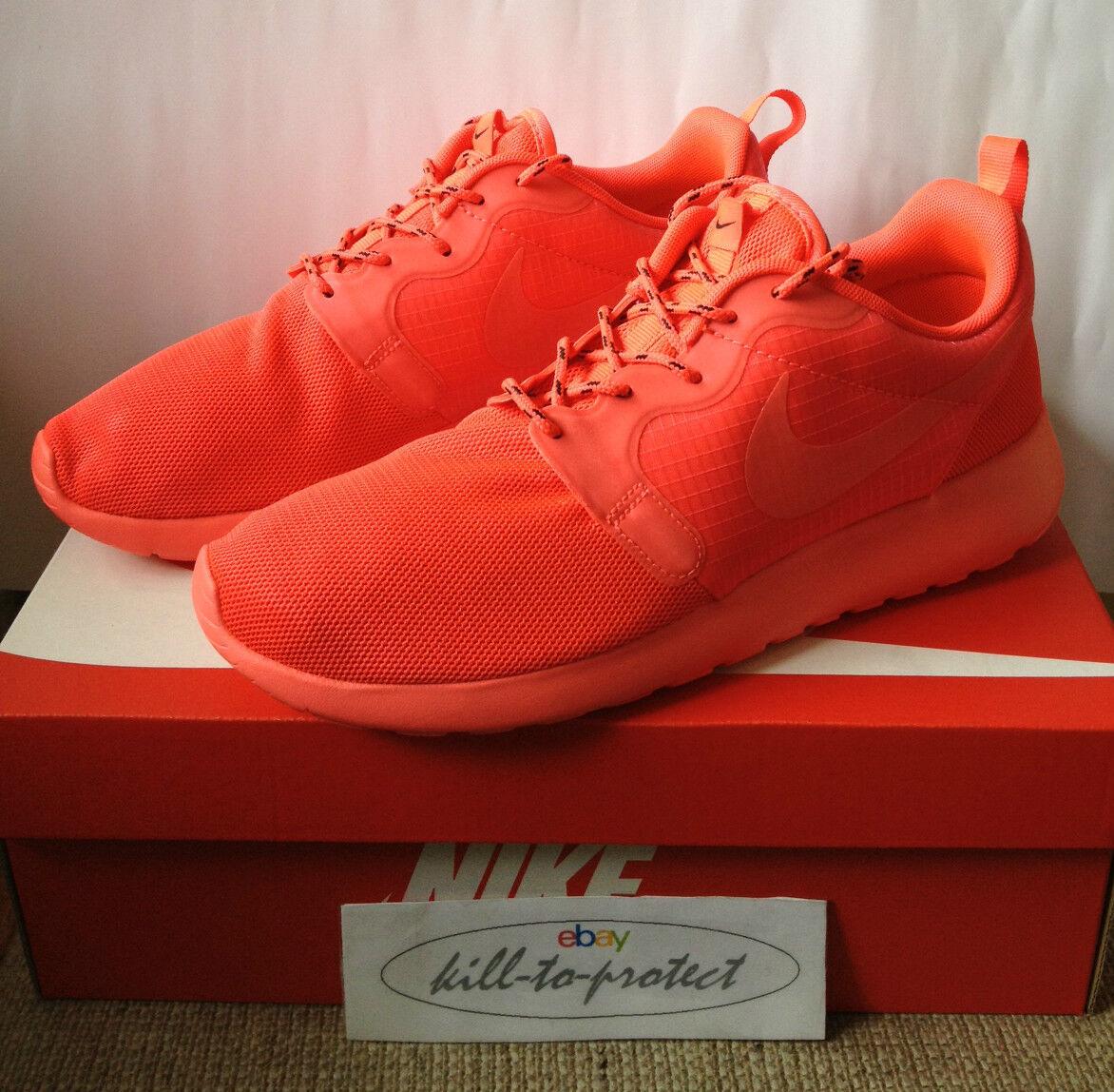 Nike WMNS Roshe Run crimson nous UK5 6 7 8 9 10 liberty Palm 642233-600 Rouge 2014