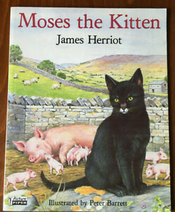 Moses-the-Kitten-by-James-Herriot-Paperback-Book-1988-Childrens-Animal-Fiction