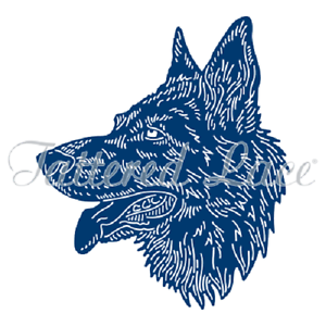 Tattered Lace Gregory German Shepherd Dog Cutting Die Tld0203