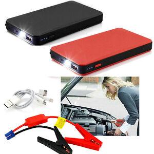 lot 20 12v 20000mah mini car jump starter booster charger battery power bank al ebay. Black Bedroom Furniture Sets. Home Design Ideas