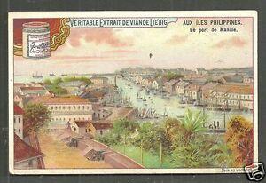 Manila Harbour Aerial view PI Philippines 1890s