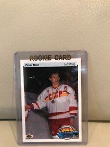 1990-91-UPPER-DECK-PAVEL-BURE-YOUNG-GUNS-ROOKIE-HOCKEY-CARD-526