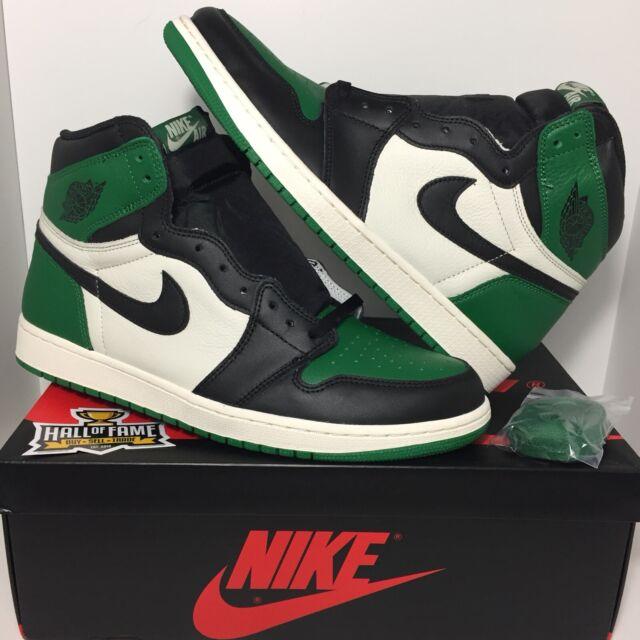 "new product a4007 774d5 Men s Nike Air Jordan I 1 ""Pine Green"" Celtics DS Deadstock (Size 13"