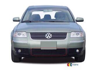 NUOVO-Originale-VW-Passat-B5-PARAURTI-ANTERIORE-INFERIORE-CENTRALE-GRIGLIA-NERO-3B0853677E-B41