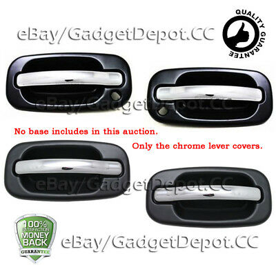 For GMC YUKON+XL 2000 2001 2002 2003 2004 2005 2006 Chrome Gas Cap Door Cover