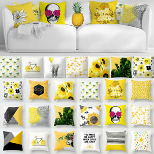 18-034-North-Europe-Yellow-Pillow-Case-Sofa-Car-Waist-Throw-Cushion-Cover-Home-Deco