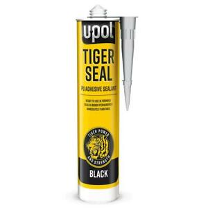 U-Pol-Tiger-Seal-PU-Adhesive-Sealant-Black-Tigerseal-polyurethane-Tube-310ml