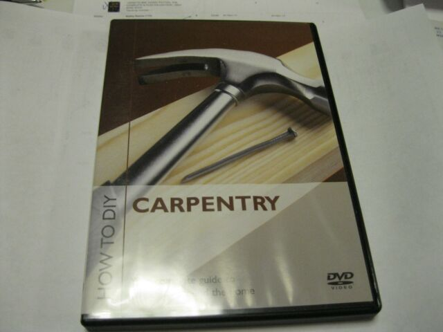 HOW TO DIY CARPENTRY - COMPLETE GUIDE   {DVD}
