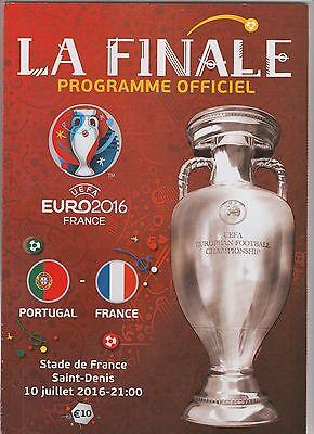 Billiger Preis Orig.prg Europameisterschaft Frankreich 2016 Finale Frankreich - Portugal ! Top