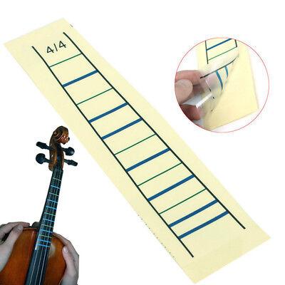 1-2 Tenlacum Fingerboard Sticker Guide Fretboard Marker for 1//4 1//8 1//2 3//4 4//4 Violin