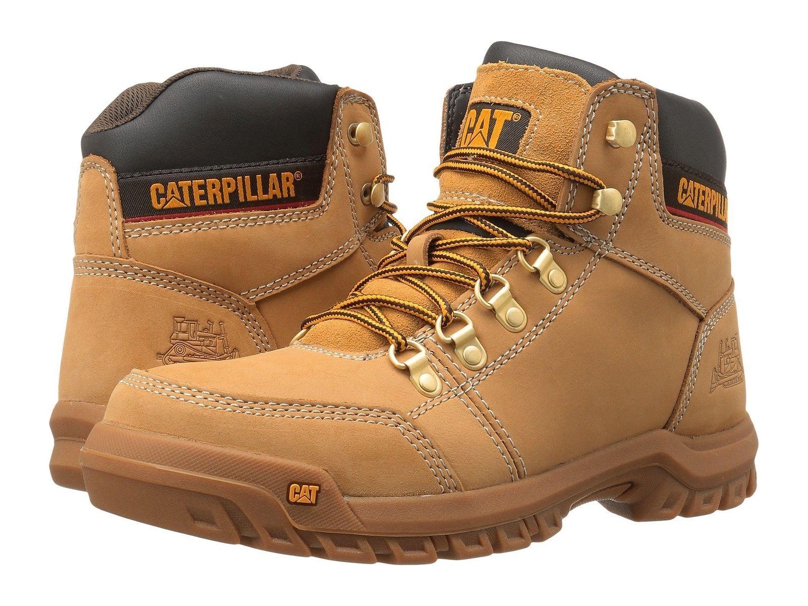 Caterpillar Men's  Outline  Honey Reset  Boot  Soft Toe---Size 11