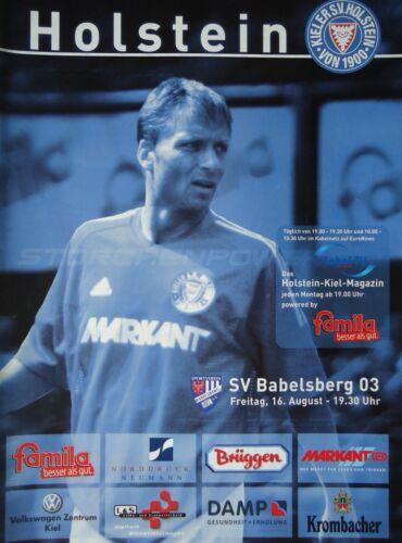 SV Babelsberg Programm Regionalliga 2002//03 KSV Holstein Kiel