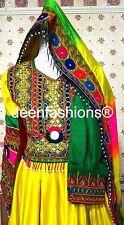 Colorido afgano kuchi, Banjara Boda Fiesta Vestido
