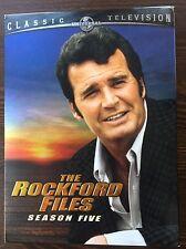 The Rockford Files - Season Five 5 DVD - Like New - James Garner