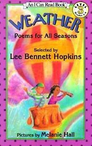 Weather-Poems-for-All-Seasons-by-Lee-Bennett-Hopkins-I-Can-Read-gr-2-4-Science