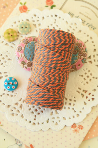 Everlasto TWO TONE Bakers Twine 20m wedding craft parcel tag giftwrapping string