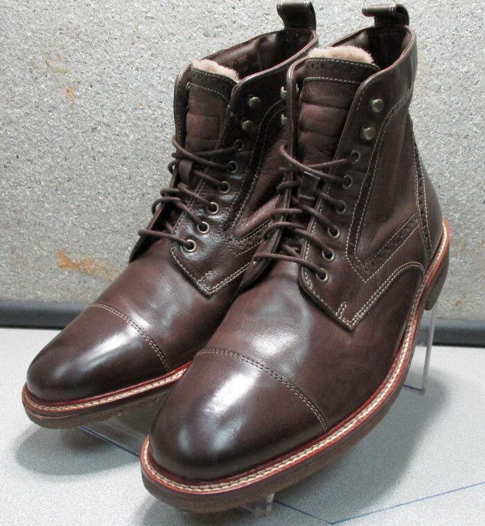 271222 WTBT 40 para hombres Cuero Marrón botas M Johnston Murphy Walk prueba &