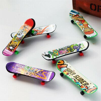 9PCS Finger Skateboard Fingerboard Skate Board Kids Table Deck Mini Toy Gifts