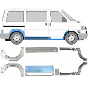 Volkswagen-Transporter-T4-90-Kuerz-Mittel-Reparaturblech-Schweller-10-Stueck-Satz