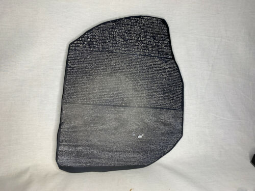 Rosetta Stone, Detailed, Signed, Numbered, Limited Edition, With Free Color Book