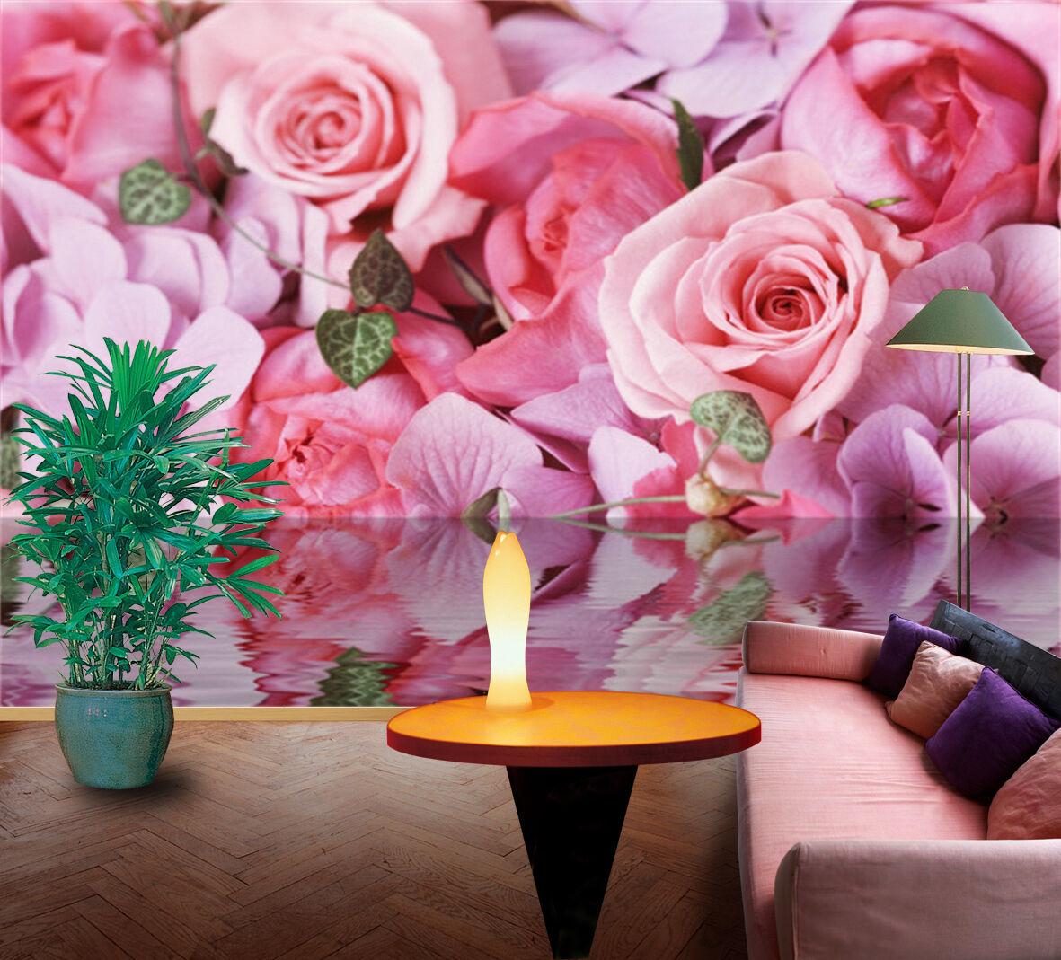 3D Fresh Pure Flowers 1716 Paper Wall Print Wall Decal Wall Deco Indoor Murals