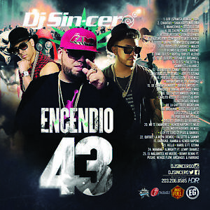 Details about DJ SINCERO Encendio 43 Reggaeton Latin Spanish Trap Mixtape  CD MIX