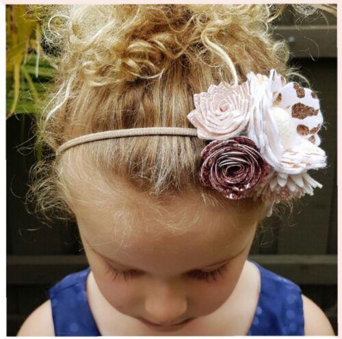 50pcs White Nylon Headband Thin-Super Soft-Stretchy Non Dents AU SELLER