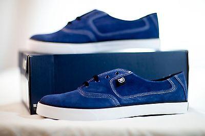 Black//White Size: 9 D US M DC Mens Fyx Vulcanized Shoes