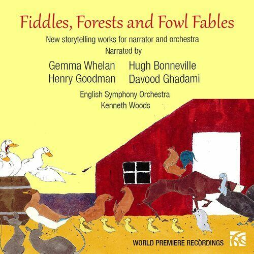 Kenneth Woods : Fiddles, Forests and Fowl Fables CD 2 discs (2021) ***NEW***