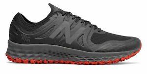New-Balance-Homme-kaymin-Trail-Chaussures-Noir-Avec-Rouge