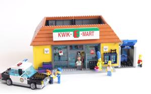 Simpsons Kwik E-Mart Badulaque Juguete Bloques Construcción Compatible Lego