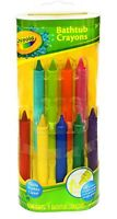 Crayola Bathtub Crayons 9 Pack Toddler Kids Bathtime Drawing Multicolor Bath Toy