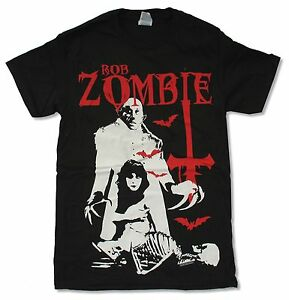 SLAYER ROB ZOMBIE HELL ON EARTH 2011 USA CDN TOUR BLK T-SHIRT NEW ALL SIZES