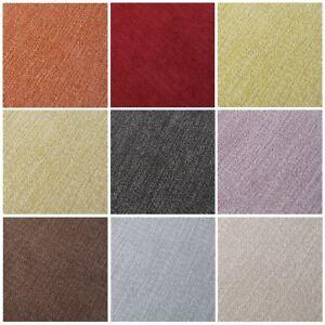 Blue wool effect soft plain bed sofa upholstery curtain cushion craft fabric