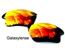 Oakley Replacement Lenses For Fast Jacket XL Red Color Polarized By Galaxylense